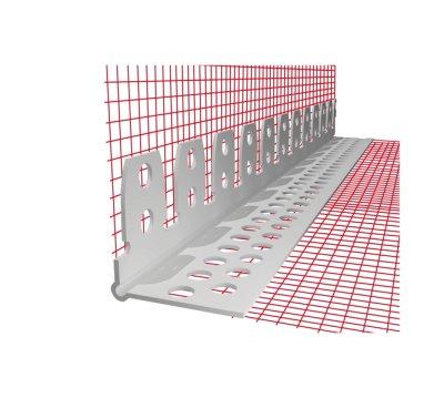 Obloukový profil ETICS PVC se síťovinou