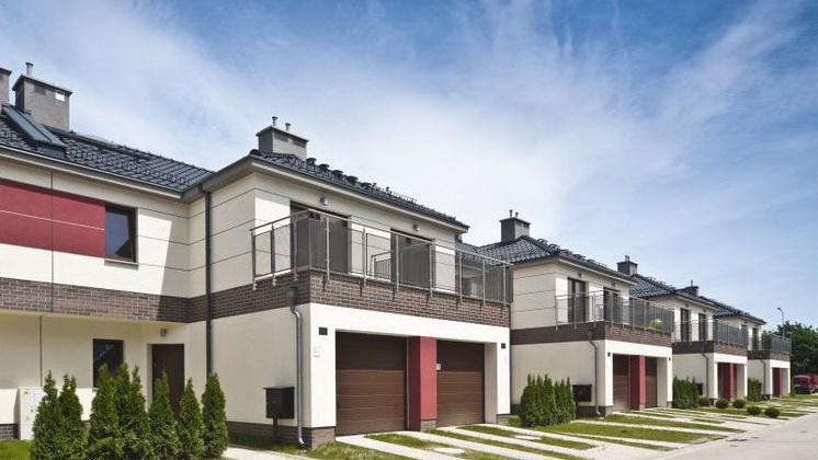 Budynki jednorodzinne w zabudowie szeregowej