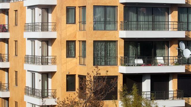 Пететажна жилищна сграда с подземни гаражи и офиси