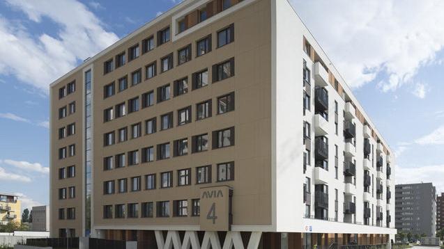 Zespół budynków mieszkalnych wielorodzinnych Avia 4